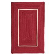Colonial Mills Doodle Edge Red Border in Border Indoor/Outdoor Area Rug; 5' x 7'