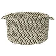 Colonial Mills Color Burst Utility Basket; Chocolate Mint Chip