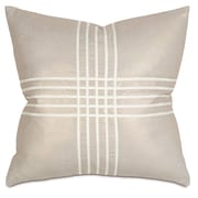 Thom Filicia Home Collection Reflection Criss-Cross Throw Pillow; Gold