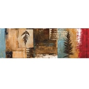 Yosemite Home Decor Unveiled Art Pressed Leaves II Original Painting on Wrapped Canvas
