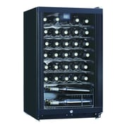 Equator Midea 35 Bottle Single Zone Freestanding Wine Refrigerator