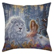 Thumbprintz Star Birth Printed Polyester Throw Pillow; 14'' H x 14'' W x 3'' D