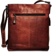 Jack Georges Voyager Cross Body Bag; Brown