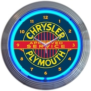 Neonetics 15'' Chrysler Plymouth Neon Clock