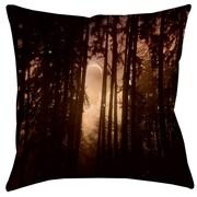 Thumbprintz Forest Skyline Printed Polyester Throw Pillow; 14'' H x 14'' W x 3'' D