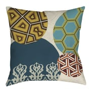 Thumbprintz Paper Lanterns 2 Printed Throw Pillow; 16'' H x 16'' W x 4'' D
