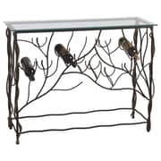 CBK Wine Table with 10 Bottle Lower Wine Rack
