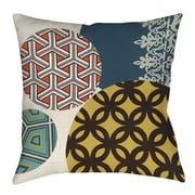 Thumbprintz Paper Lanterns 1 Printed Throw Pillow; 14'' H x 14'' W x 3'' D