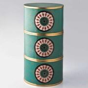 Piling Palang Daisies Round Tiffin Box