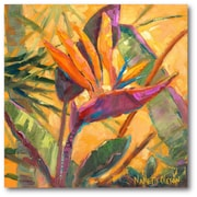 Courtside Market Splash of the Tropics I Painting Print on Wrapped Canvas