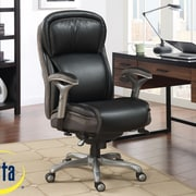 Serta at Home Blissfully High-Back Manager Office Chair AIR  Technology