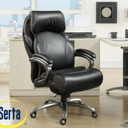 Serta at Home Tranquility High-Back Executive Office Chair with AIR  Technology