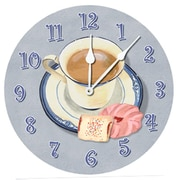 Lexington Studios Afternoon Coffee 10'' Wall Clock