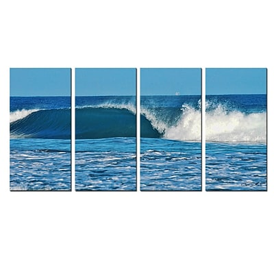 Ready2hangart 'Ocean Motion' by Christopher Doherty 4 Piece Photographic Print on Wrapped Canvas Set WYF078277573767