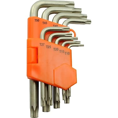 Dynamic Tools 9 Piece Torx® Hex Key Set, T10 - T50
