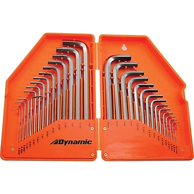 Dynamic Tools 30 Piece SAE & Metric Hex Key Set, .028
