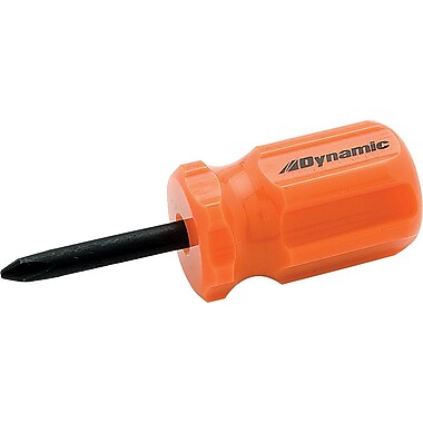 Dynamic Tools #1 Phillips® Stubby Screwdriver, Acetate Handle