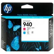 HP – Cartouche de tête d'impression originale 940 magenta et cyan (C4901A)