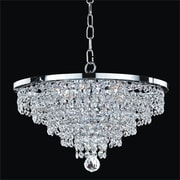 Glow Lighting Vista 6-Light Crystal Chandelier
