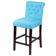Monsoon Pacific Sopri Counter Height Parsons Chair (Set of 2); Frost Blue