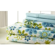 Spirit Palazzo Home 250 Thread Count Sheet Set in Blue & Green; Queen