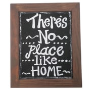 Craft Outlet No Place Like Home Framed Textual Art