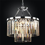 Glow Lighting Timeless 6 Light Crystal Chandelier