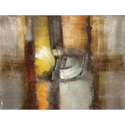 Quest Products Inc Nuts and Bolts Original Painting on Wrapped Canvas