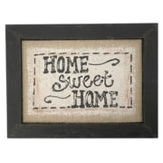 Craft Outlet Home Sweet Home Framed Textual Art