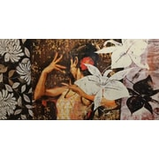 Quest Products Inc Spanish Dancer Original Painting on Wrapped Canvas