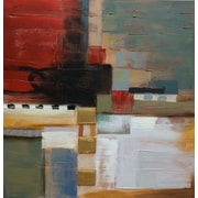 Quest Products Inc Abstract #2 Original Painting on Wrapped Canvas