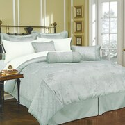 Livingston Home Monticello 11 Piece Bed-In-a-Bag Set; Queen