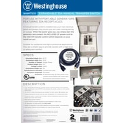 Westinghouse Power Products 30 Amp Manual Transfer Switch