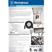 Westinghouse Power Products 50 Amp Manual Transfer Switch