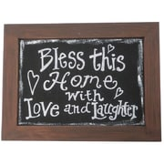 Craft Outlet Bless This Home Framed Textual Art
