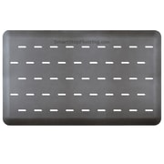 "Smart Step® Supreme Pro Polyurethane Slotted Anti-Fatigue Mat, 60"" x 36"", Gray"