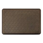 """Smart Step® Designer Antique™ Trellis Polyurethane Anti-Fatigue Mat, 36"""" x 24"""", Dark Antique"""
