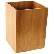 Gedy by Nameeks Cubico Waste Basket; Bamboo