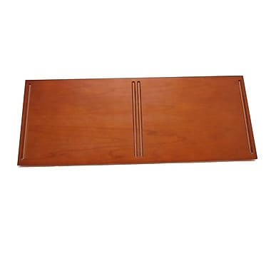 Quagga Designs qd-box™ Top Panel for 2 qd-boxes™, Cherry Stain