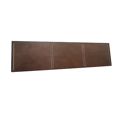 Quagga Designs qd-box™ Top Panel for 3 qd-boxes™, Walnut Stain