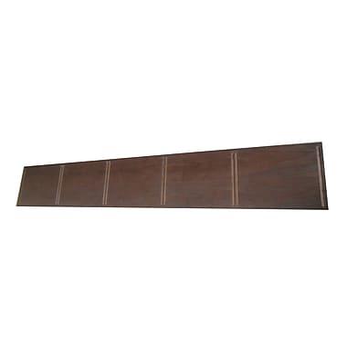 Quagga Designs qd-box™ Top Panel for 5 qd-boxes™, Walnut Stain