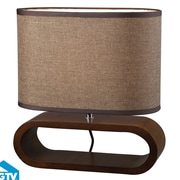 Elk Lighting Modern Heritage 12'' H Table Lamp with Oval Shade