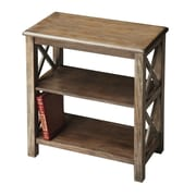 Butler Masterpiece 25'' Accent Shelves; Dusty Trail with Maple