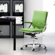 dCOR design Lider Plus Mid-Back Office Chair; Green