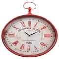 Wilco Metal Oval Wall Clock