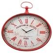 Wilco Home Metal Oval Wall Clock