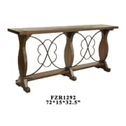 Crestview Normandy Console Table