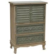 Crestview Biscayne 2 Drawer/2 Door Cottage Cabinet