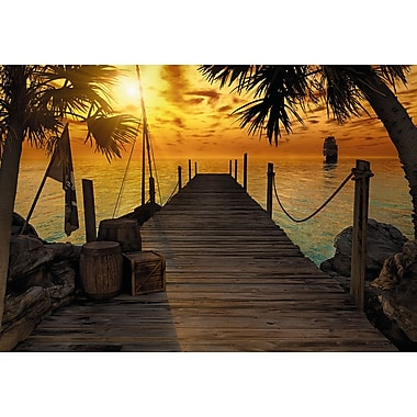 Komar Treasure Island Wall Mural, 100