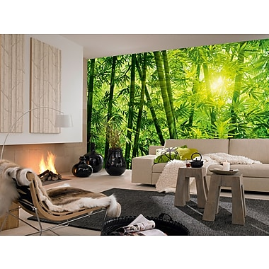 Ideal Decor – Mural Bamboo Forest, 144 x 100 po
